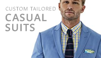 tailor made mens casual suits