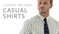 tailor made mens casual shirts