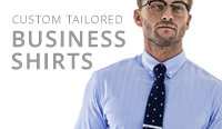 tailor made mens business shirts