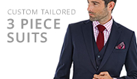 tailor made mens 3 piece suits