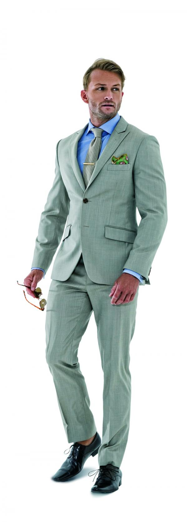 Men\'s Style Guide: Men\'s Suit Details