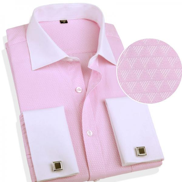 4f5acf75f529 By accessorising with a pink pocket square or tie or sticking with that pink  dress shirt, ...