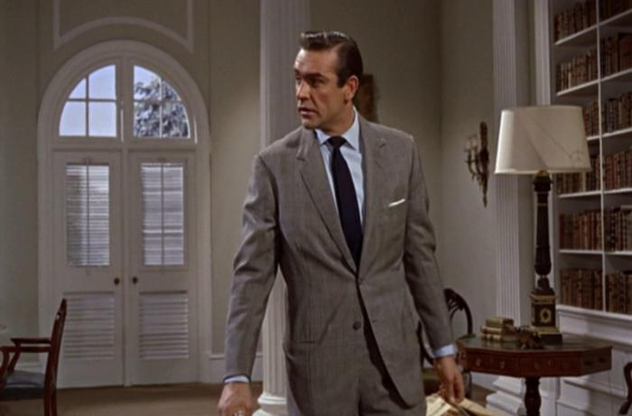 Glen Check Suit Sean Connery Dr No