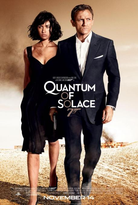 Quantam of Solace Suit Daniel Craig
