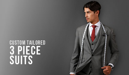 3 Piece Suits - Mens Suits Sydney